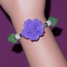 Purple Rose Frost Bracelet
