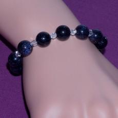 Blue Galaxy Staras Bracelet