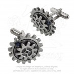 Empire Spur Gear Cufflinks