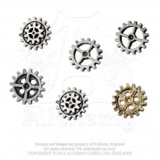 Gearwheel Buttons (Medium)