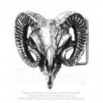 Ram's Skull Buckle