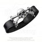 Skull 'n' Bones Strap Bracelet