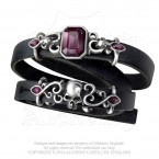 Pirate Princess Leather Strap Bracelet