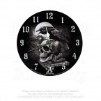 Poe's Raven Clock