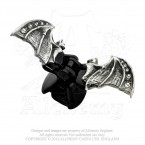 Crystal Bat Clip