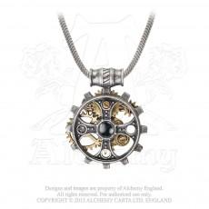 Foundryman's Ring Cross Pendant