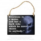 Everyone Is A Moon Hanging Plaque