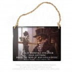 Life Is Infinitely Stranger Hanging Plaque