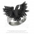 Flocking Raven Ring
