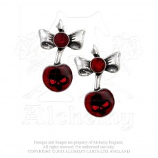 Black Cherry Studs