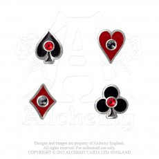 Aces Up Earrings