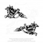 Tattoo Gun Studs (Pair)