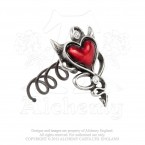Devil Heart Hair Screw