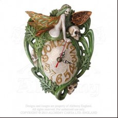 Artemesia Absinthium Wall Clock